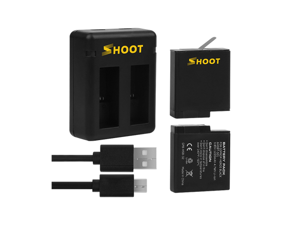 GoPro HERO 5 6 7 Battery Dual Charger Kit
