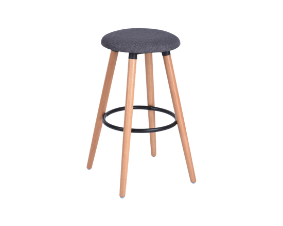 Kitchen Barstools Grey Set of 2