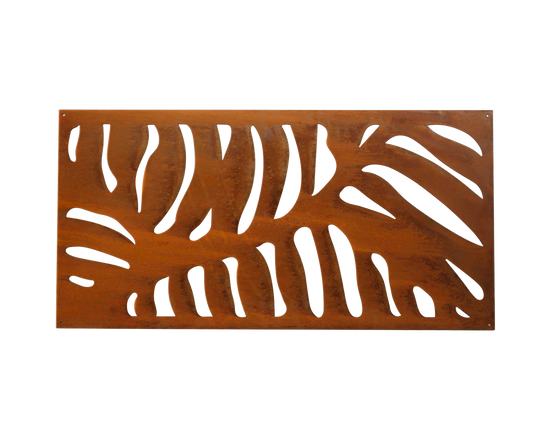 Metal Decorative Screen Leaf