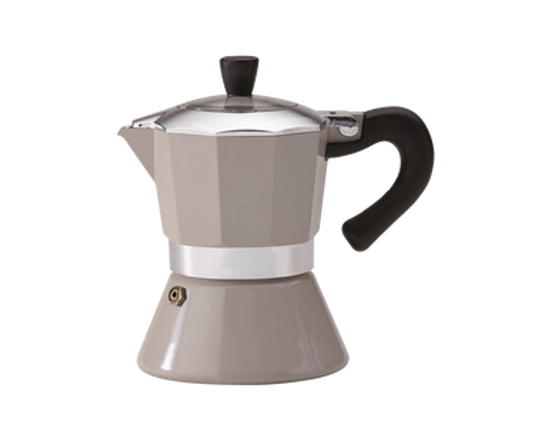 Pezzetti Bellexpress Induction Espresso Maker 6 Cup Grey