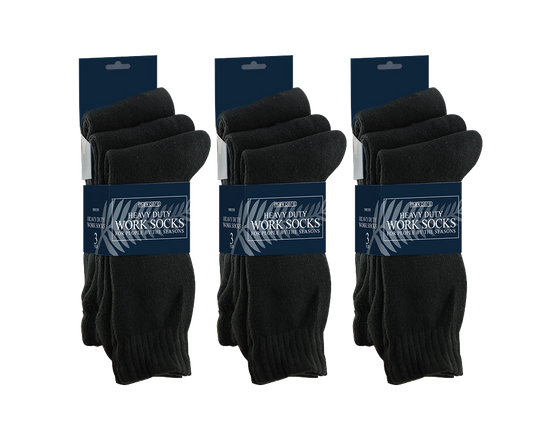 12 Pairs Heavy Duty Work Socks
