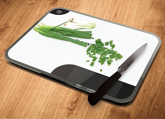 Salter  Chopping Board Kitchen Scale