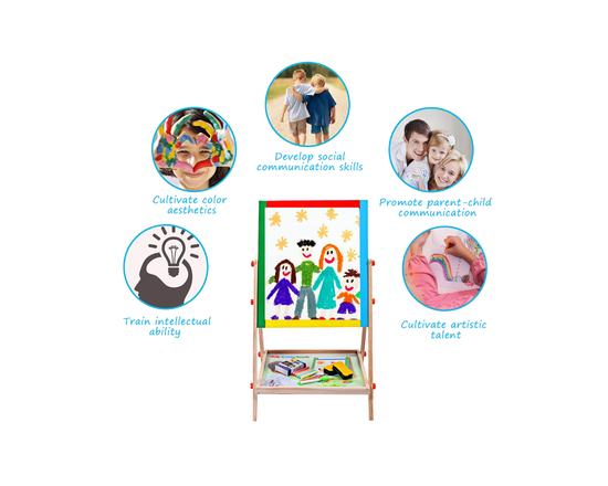 2 in 1 Kids Art Easel