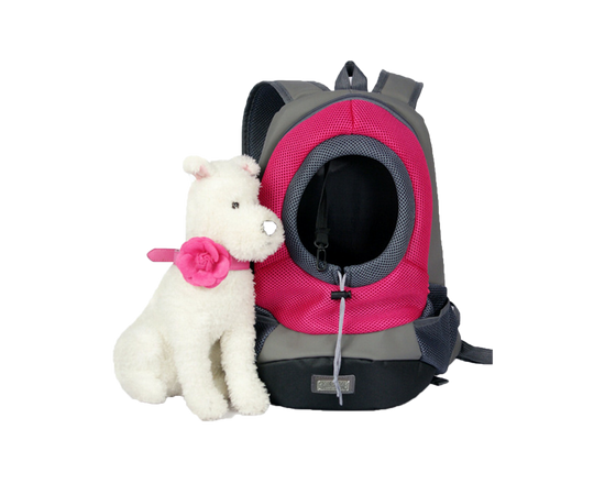 Pet Carrier Backpack Small Red