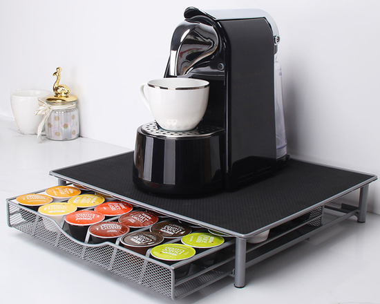 Coffee Capsule pod Holder Drawer
