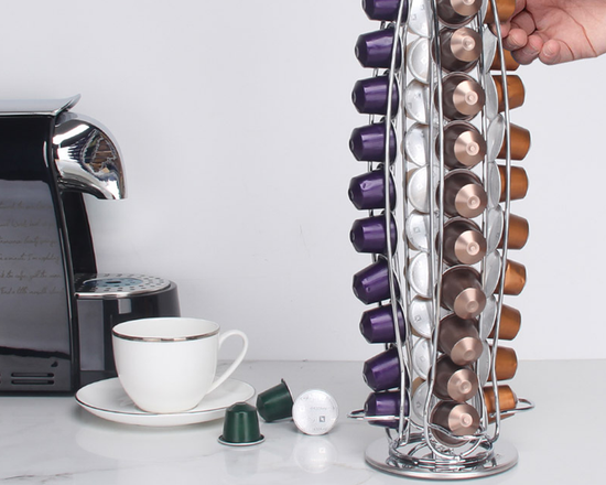 Rotating Coffee Capsule Pod Holder For Nespresso