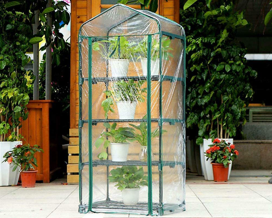 4 Tier  Mini Indoor Greenhouse