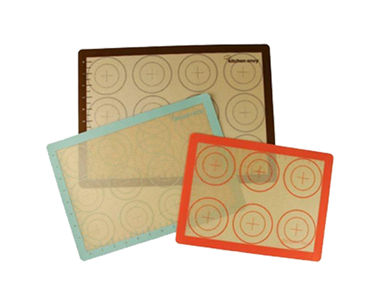 3 x  Non-Stick Silicone Baking Liners