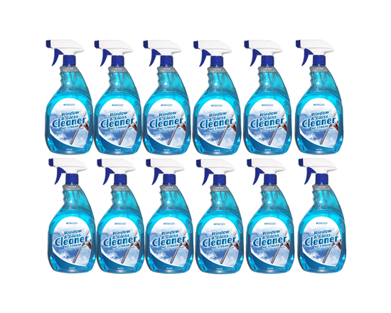 12pk Maxcare Window&Glass Cleaner