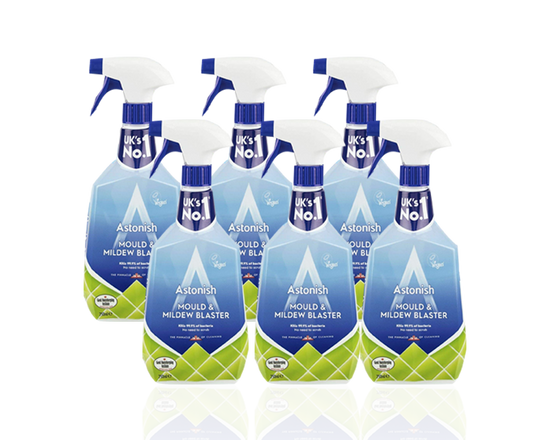 6 pk Astonish Mould & Mildew Trigger Cleaner