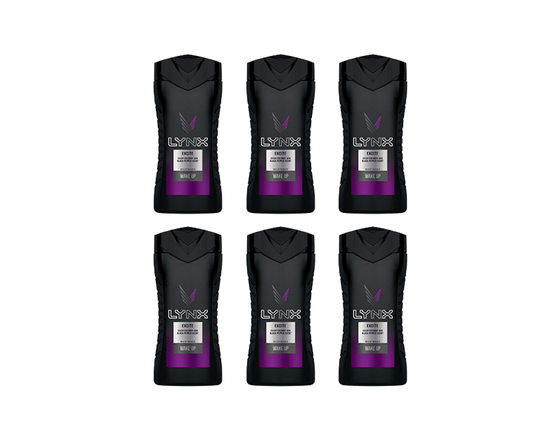 6 pk LYNX Shower Gel Excite 250ml