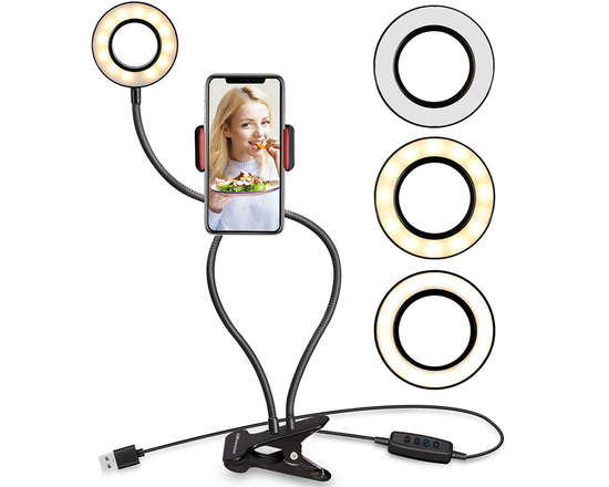 Selfie Ring Light With Phone Stand