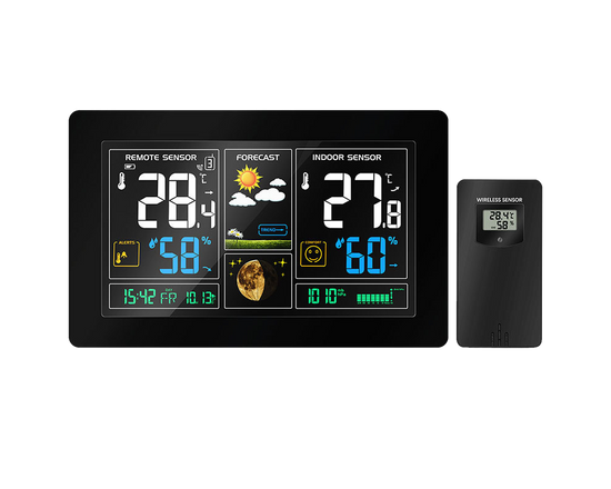 Weather Station Wireless Colored LCD