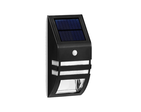 Solar Motion Sensor Light Black