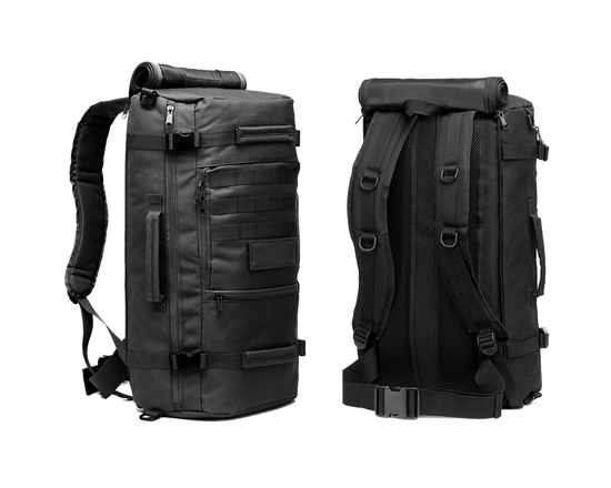 Backpack Military Camping Bag Black