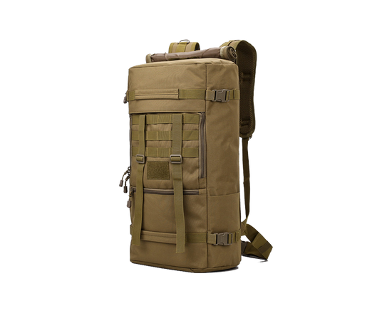 Backpack Military Camping Bag Brown