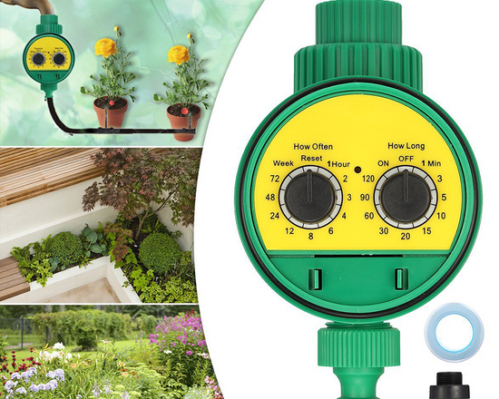 Automatic Garden Watering Timer