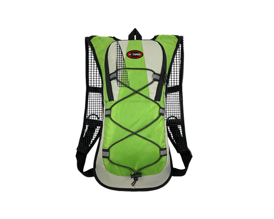 2L Hydration Backpack With Water Bladder Green