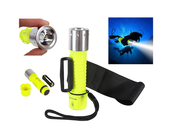 Scuba Diving Flashlight Underwater Torch