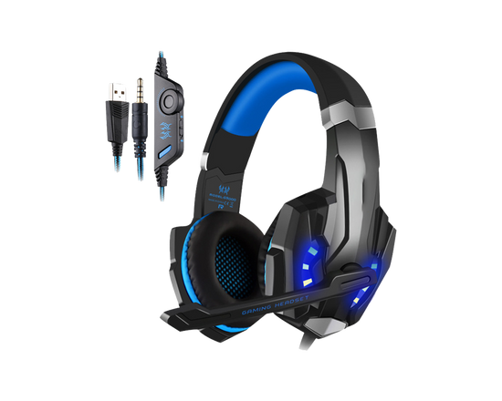 LED 3.5mm Stereo Gaming Headset