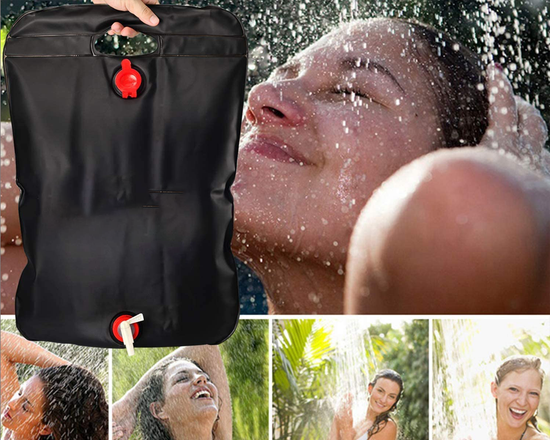 Portable Camping  Solar Shower 20L