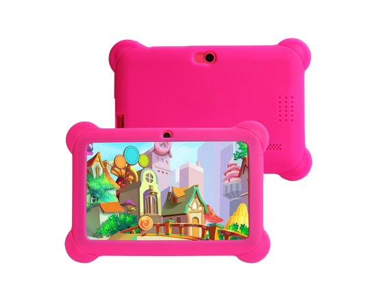 """7"""" Kid's Android Tablet 8GB Pink Case"""