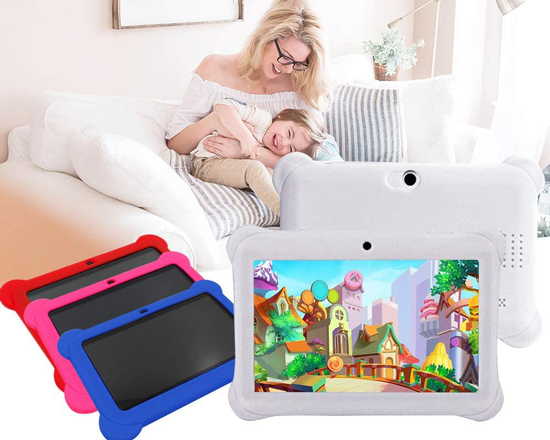 """7"""" Kid's Android Tablet 8gb Black Case"""