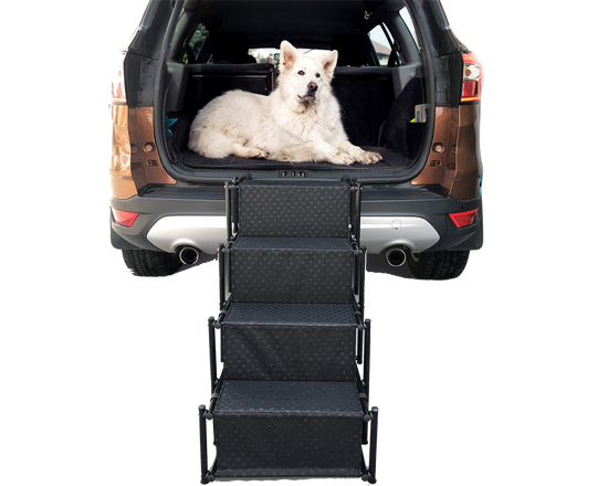 Lightweight Foldable Pet Ramp Black