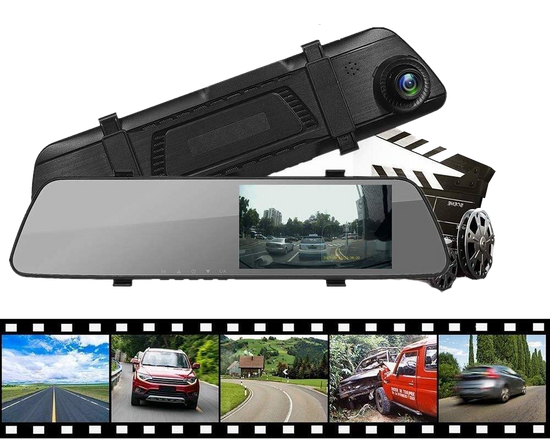 1080P FHD Car RearView Mirror DVR