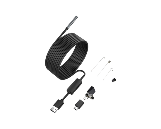 3 in 1 USB Endoscope Camera Cable 5M