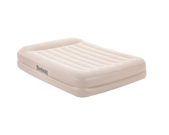 Bestway Air Bed Queen Size Tritech I-Beam Built-in Pump