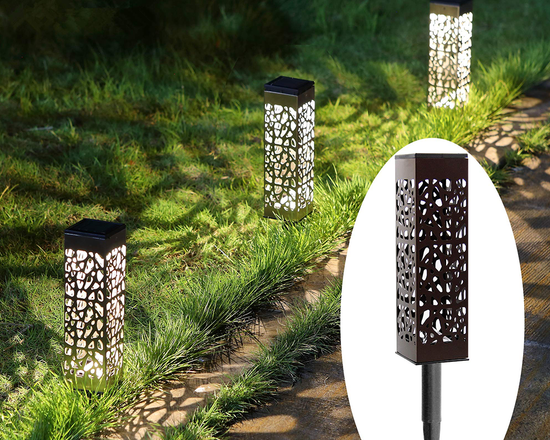 Outdoor Solar Garden Lights Set of 6