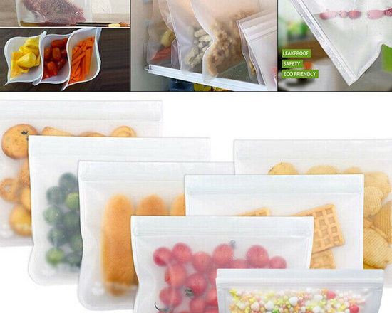 Reusable Food Storage Bag Set of 4