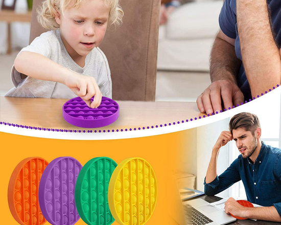 Pop It Circle Fidget Toy