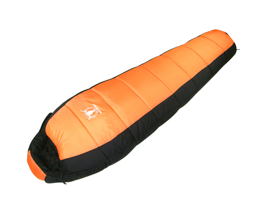 Sleeping Bag Orange Right Zip