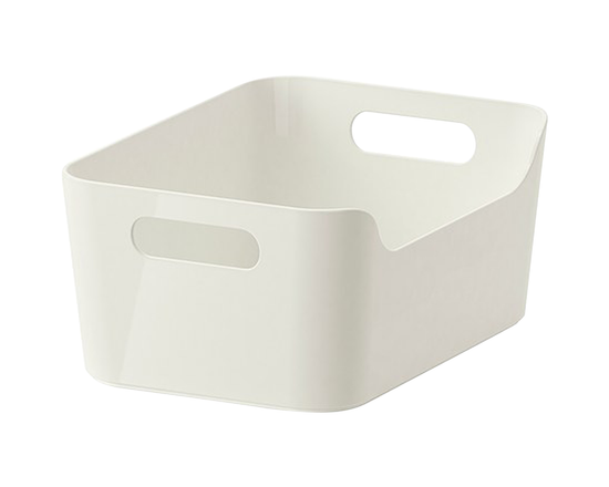 IKEA VARIERA Storage Box Container White 24x17x10.5cm