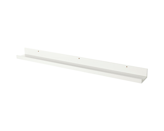 IKEA Mosslanda Picture Ledge White