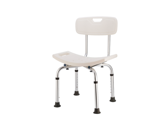 Shower Stool With Back Support