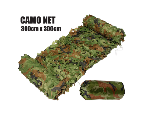 Outdoor Mesh Camouflage Net 3M x 3M