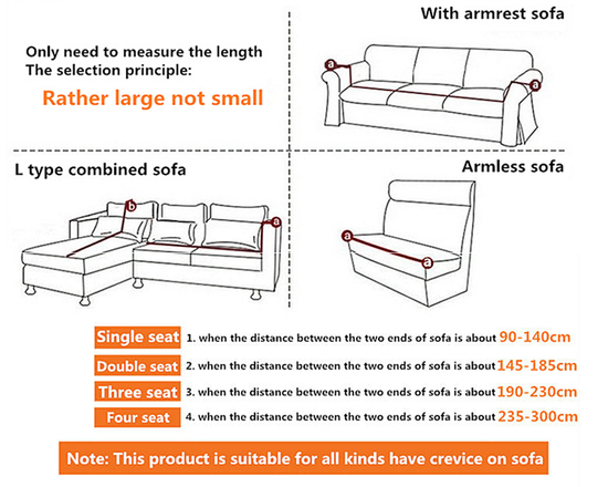 3 Seaters Sofa Cover  Grey