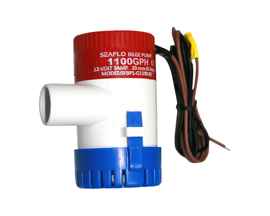 Bilge Pump 12V 1100GPH Submersible