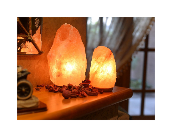 Himalayan Salt Lamp Crystal Rock 3-5kg