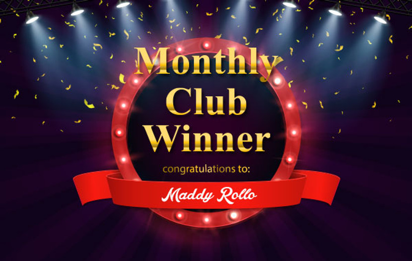 Club Member Exclusive Draw Prize Winner for Feb 2019