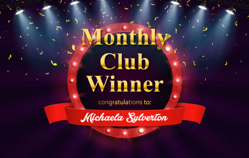 April 2019 Member-exclusive Giveaway Winner