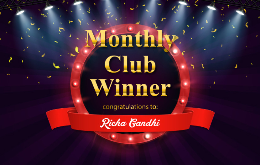 March 2019 Member-exclusive Giveaway Winner