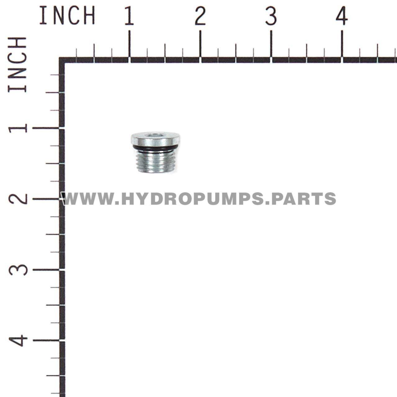 Hydro Gear 9005110-5600 - Plug 9/16-18 Metal - Image 3