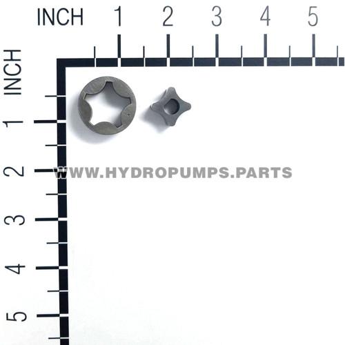 Hydro Gear 50273 - Gerotor Tangx1.15x.39 1.9cc - Image 2