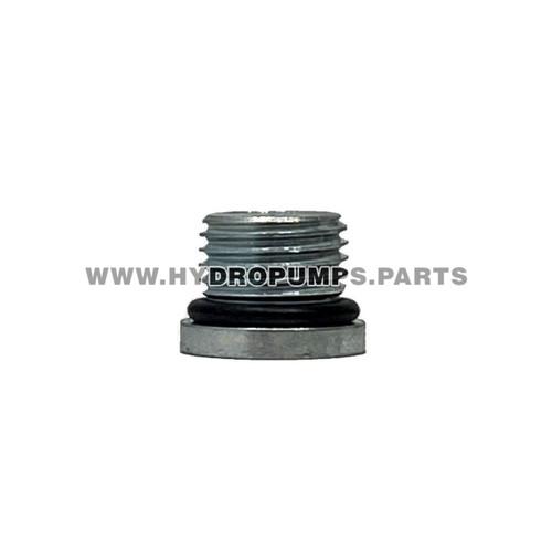 Hydro Gear 9005110-5600 - Plug 9/16-18 Metal - Image 1