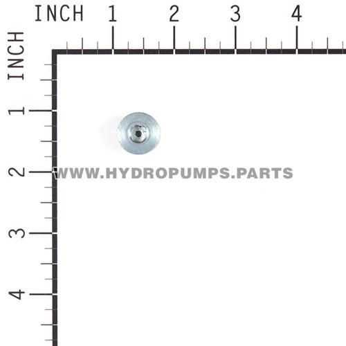 Hydro Gear 9005110-5600 - Plug 9/16-18 Metal - Image 2