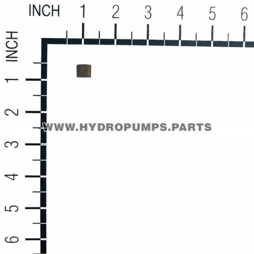 Hydro Gear 51448 EZT Transaxle Bypass Plate OEM
